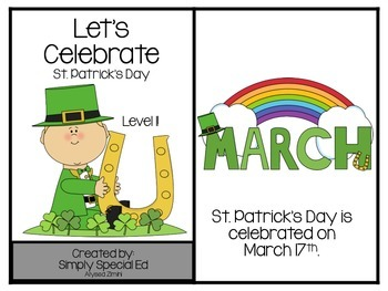 Adapted Book: St. Patrick's Day!