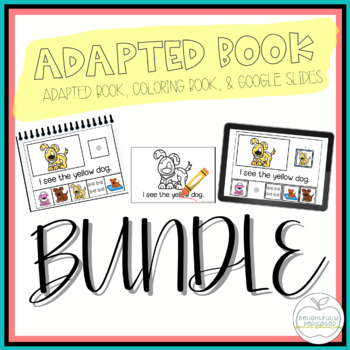 Adapted Book & Student Book GROWING BUNDLE for Early Childhood Special Ed