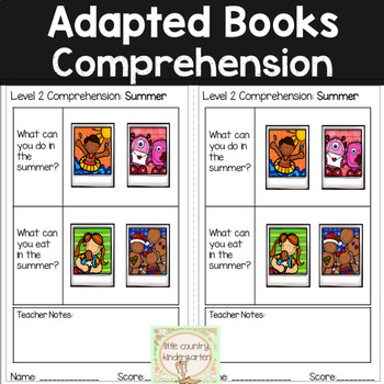 Leveled Adapted Books: Summer
