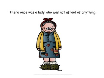 The Little Old Lady Who Was Not Afraid of Anything - Adapted Book