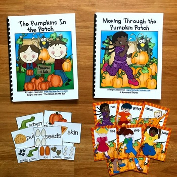 """Pumpkin Adapted Song Book--""""The Pumpkins in the Patch"""""""