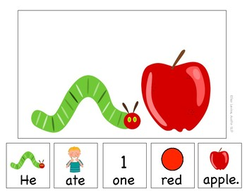 Adapted Book: The Very Hungry Caterpillar