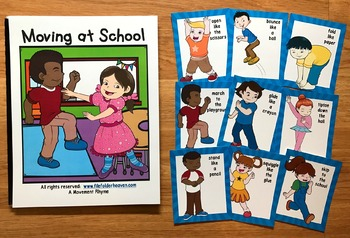 "Back to School Adapted Books--""Time For School!"" ""Moving at School"""