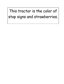 Adapted Book Tractor - Color Inferences