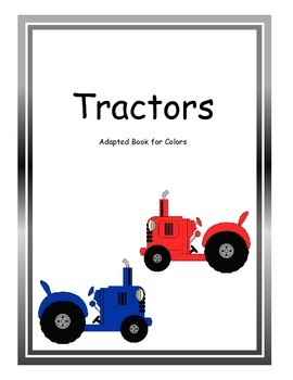 Adapted Book Tractors-Colors
