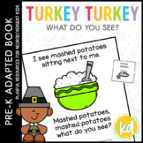 Turkey Turkey What Do You See?: Adapted Book for Special E