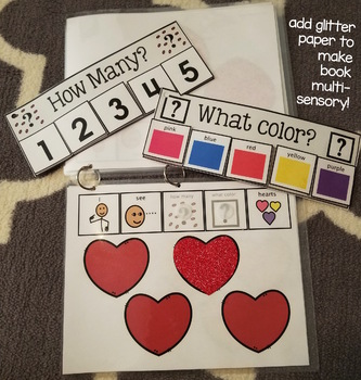 Adapted Book: Valentine's Counting