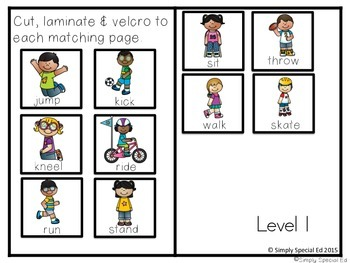 Adapted Book: Verbs!