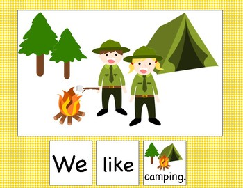 Adapted Book: We Are Camping