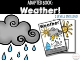 Adapted Book: Weather!
