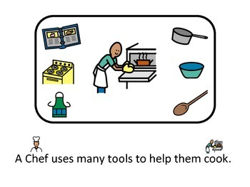 Adapted Book: What Does a Chef Use?