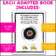 Wheels on the Bus: Adapted Book for Early Childhood Special Education