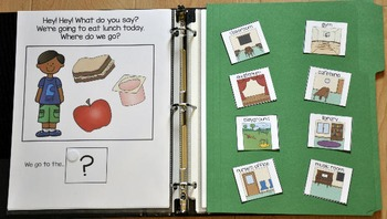 """Adapted Book--""""Where Do We Go?"""" (Our School Edition)"""