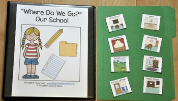 "Adapted Book--""Where Do We Go?"" (Our School Edition)"