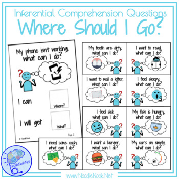 Adapted Book: Where Should I Go? Inferential Comprehension Questions