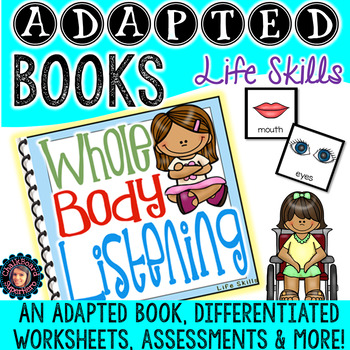 Adapted Book {Whole Body Listening}