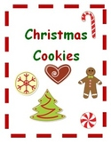 Adapted Book Christmas Cookies with bonus file folder game