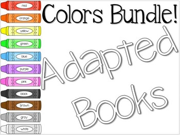 Adapted Book for Colors BUNDLE