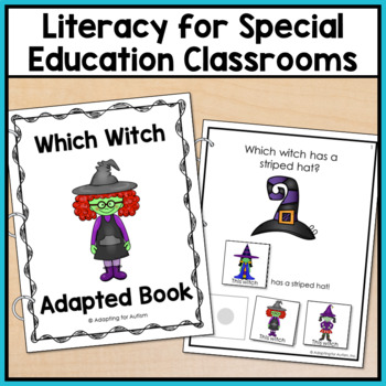Halloween Adapted Book for Special Education and Autism: Which Witch