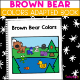 Brown Bear What Do You See?: Adapted Book for Students with Autism