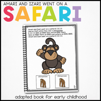 Cheetah Cheetah What Do You See?: Adapted Book for Special Education