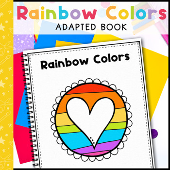 Rainbow Colors: Adapted Book for Early Childhood Special Education