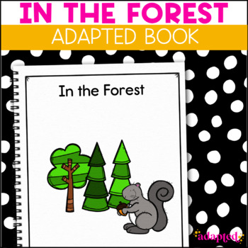 Squirrel, Squirrel  What Do You See?: Adapted Book for Special Education