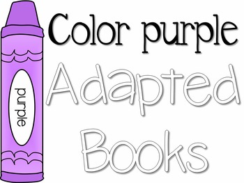 Adapted Book For The Color Purple 3 Differentiated Levels