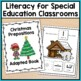 Christmas Adapted Book for Special Education and Autism - Prepositions