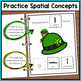 St. Patrick's Day Adapted Book for Special Education and Autism - Prepositions