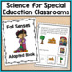 Fall Adapted Book: 5 Senses (Autism & Special Education)