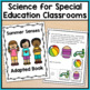 Summer Adapted Book for Special Education and Autism: The 5 Senses