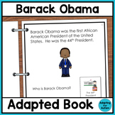 Barack Obama Adapted Book for Special Education and Autism