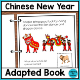 Chinese New Year Adapted Book for Special Education and Autism