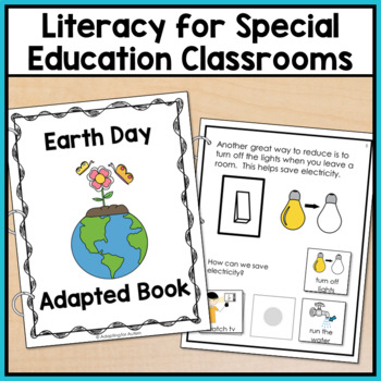 Earth Day Adapted Book with Comprehension Questions for Special Education