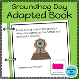 Groundhog Day Adapted Book with Comprehension Questions fo