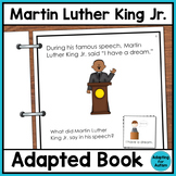 Martin Luther King Jr Adapted Book for Special Education a