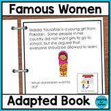 Women's History Month Adapted Book for Special Education and Autism