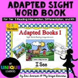 Adapted Sight Word Book: I See (color)