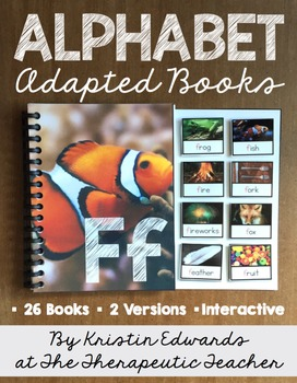 Adapted Books: ALPHABET