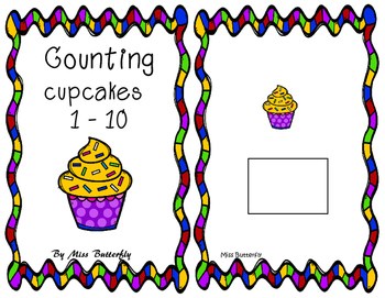 Adapted Books - Counting cupcakes 1 to 10
