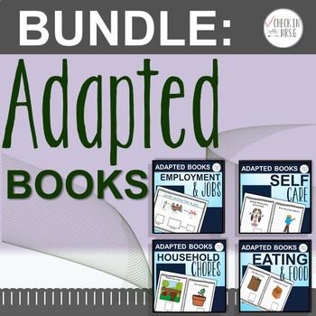 Adapted Books Life Skills Bundle