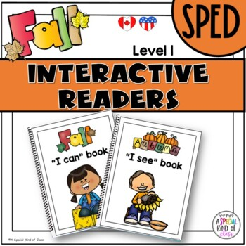 Adapted Books for Special Education Fall