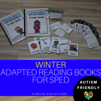 Adapted Books Reading level 1 Winter