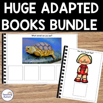Year Long Adapted Books for Autism and Special Education