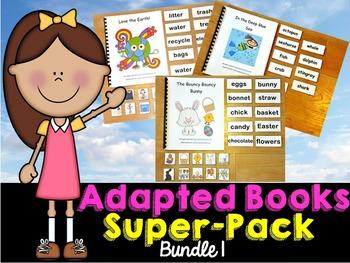 Adapted Books Super Pack Set 1