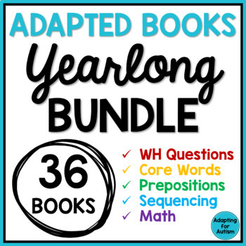 Adapted Books: Ultimate BUNDLE (Autism & Special Education)