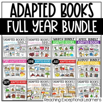 Adapted Books Yearly Bundle