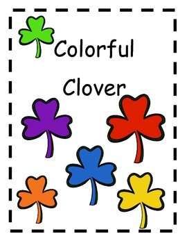 Adapted Books Colorful Clover