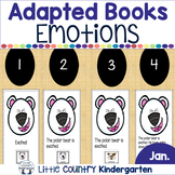 Feelings and Emotions: January Adapted Books for Special E